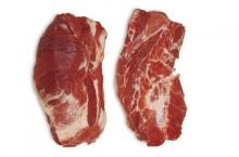 Frozen pork collar, boneless, skinless from Brazil. 30% discount