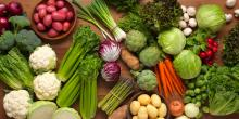 Fresh & Frozen Organic Vegetables available. 30% discounts available