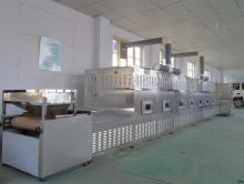 High efficiency microwave pork skin drying/roasting/puffing/sterilizing equipment