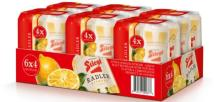 Stiegl golden lager (Cans and Bottles)
