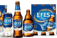 Efes Pilsener beer (Cans / Bottles) on sale, 30% discount