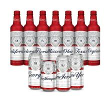 Budweiser Lager (Can / Bottle) Fresh Stock