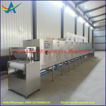 tunnel cocoa powder sterilization machine, 20kw microwave sterilizer