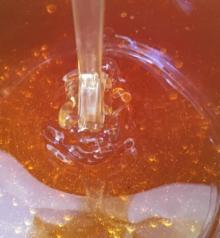 Organic Raw Honey.