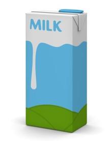 UHT Milk.