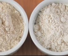 Brown rice flour.