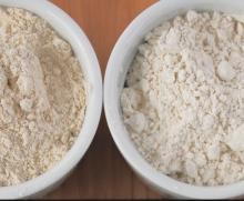 Brown   rice   flour .