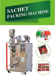tomato paste sachet packing machine