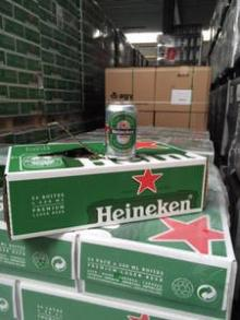 Dutch Heineken Beer in Bottles and Cans (From Holland)