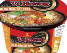 Blaak Pepper Crab Flavor Instant Noodles in Bowls 80gr