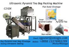 Triangle tea bag packing machine,pyramid tea bag packing machine