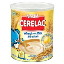 All Stage Nestle Cerelac Wheat with Milk 400gr Tin.