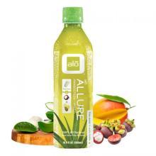 Aloe vera with mangosteen juice 350ml bottle