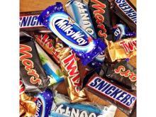 snicker chocolate bar, twix,  bounty ,  mars , nutella, m&m,pringles, kitkat, galaxy