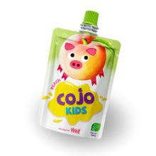 100ml Cojo Kids Pouches Peach Juice Drink