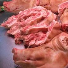 Frozen Pig Head Meat and pork