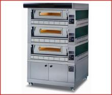 PIZZA GAS OVEN 3 deck