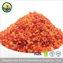 Bulk items freeze dried vegetable dried red bell pepper from China