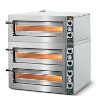 ELECTRIC PIZZA OVEN , 3 deck stone oven