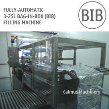 Fully-automatic 5L 10L 20L Vitop Scholle Tap Bag Filler High-speed Bag in Box Filling Machine