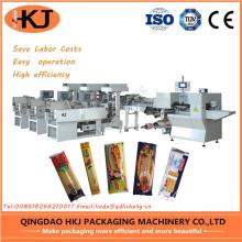 Automatic Vemicelli noodle packing machine with three weighers