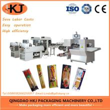 Full Automatic food weighing and packing machine with two weighers
