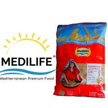 Couscous 100% Whole Wheat Premium quality Couscous Medium Grain Bag 1Kg