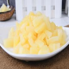 diced pineapple in syrup with aseptic packaging 20KG/China