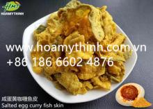 salted egg curry fish skin