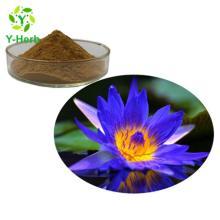 10:1 50:1 100:1 200:1 Nuciferine Pure Flower Petal Powder Nymphaea Caerulea/Blue  Lotus  Extract