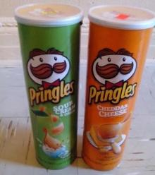 Pringles Potato Chips/Pringles Potato Chips 169gr / 40gr / 80gr Fo