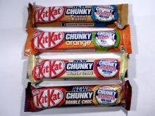 Kit Kat Chunky White and kit kat chunky peanut butter 42g