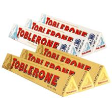 Toblerone 100g 200g 360g & 400g Milk Chocolate