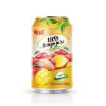 330ml VINUT 100% Mango Juice Drink Can