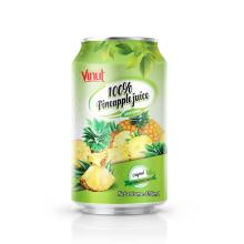 330ml VINUT 100% Pineapple Juice Drink