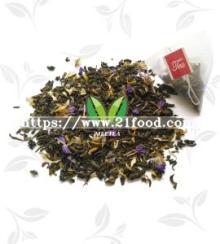 Milk Cherry Flavor Green Tea Pyramid Tea Bag