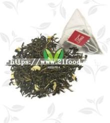 Jasmine Flower Transparent Pyramid Triangle Tea Bags