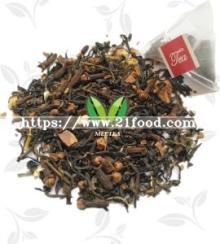 Cinnamon Flavor Jasmine Pyramid Triangle Black Tea Bags