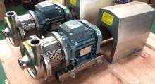 SCP Series Stainless steel sanitary centrifugal food pumps