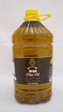 Virgin Olive Oil, 5L , 0.8% Acidity, from Koroneiki Olives, Healthy olive oil