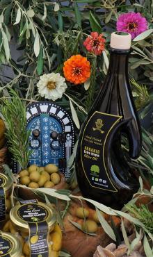 500mL Hasdrubal Bottle, Organic Extra Virgin Olive Oil. ISO Certified olive oil