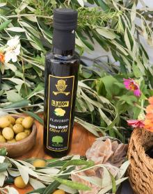 Flavored Olive Oil with Lemon FDA Certified. Premium Quality Olive Oil. 100% Olive Oil with Lemon in