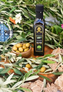Extra Virgin Flavored Olive Oil with Rosemary, 250 ml.