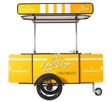 Hot Dog Kiosk Cart