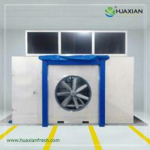 Huaxian precooling system force air cooler pressure difference cooler fruit vegetables flowers