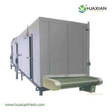 Huaxian net belt steel belt tunnel blast freezer meat pultry vegetables fruits drinks