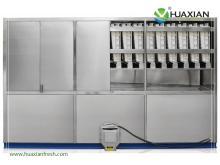 China hot sale huaxian industrail cube ice machine ice-making ice crusher