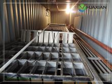 Huaxian factory block ice machine suitable seafood meat fish