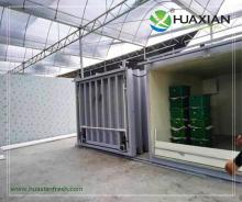 China Fast cooling Refrigeration and fresh fruit vegertable vacuum precooling cooling manufacture