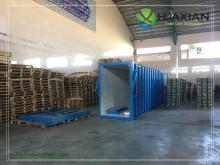 China customized rapid cooling container fast cooling vegetables vacuum cooler supplier